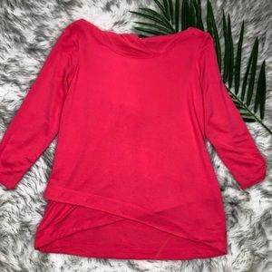 Sunday Hot Pink Sweater Medium Hoodie